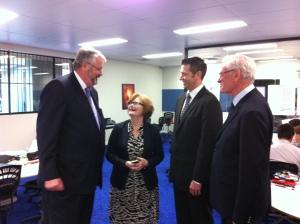 New Tech Network Visit to Parramatta Marist