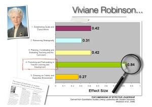 viviane robinson instructional leadership